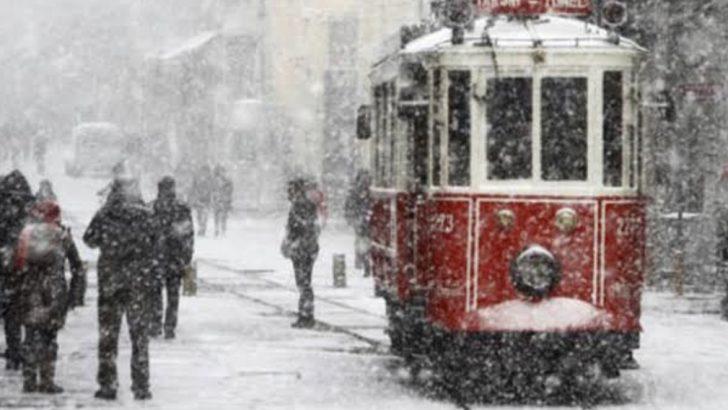 İstanbul'da Kar Etkili Olacak