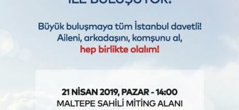Ekrem İmamoğlu Yeni bir başlangıç için Türk bayrakları ile Maltepe'deyiz! 🇹🇷
