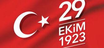29 Ekim 1923 Cumhuriyet Bayramı