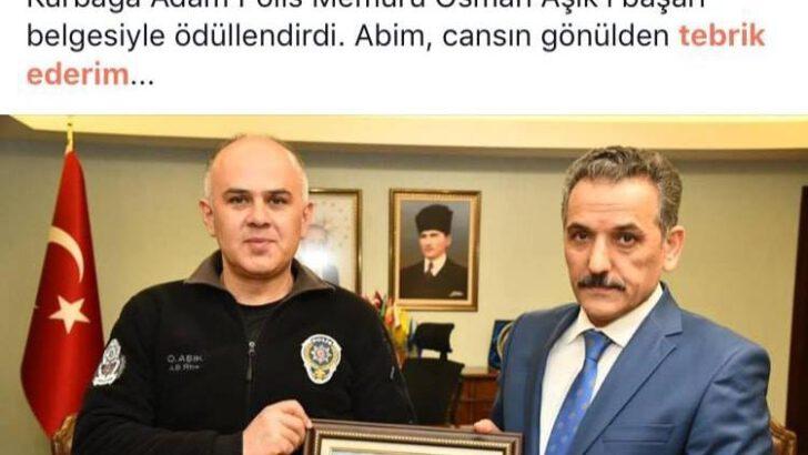 Kurbağa Adam Polis Memuru OSMAN AŞIK 28.03.2019