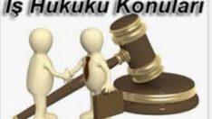 İş hukuku alanına hâkim olan temel ilkeler;